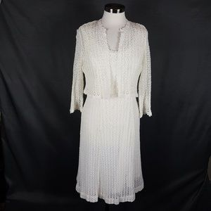 4/10- Dress and Cardigan set size 12P